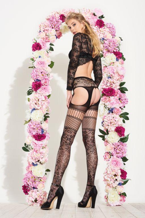 Carnation strip panty